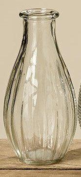 Ваза прозрачное стекло h14 d7см 3911200