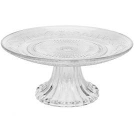 Подставка для торта прозрачное стекло d18см 5381600