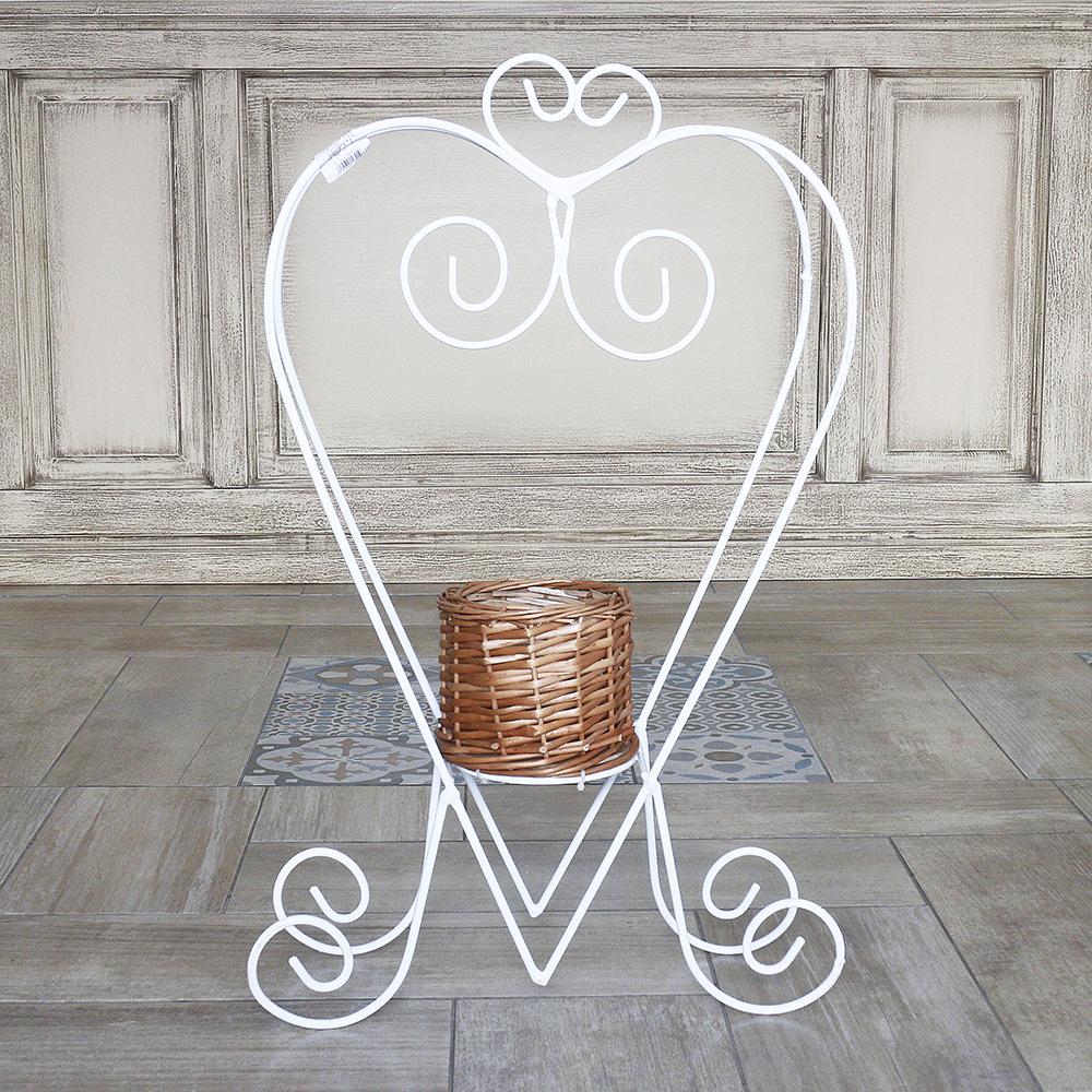 Подставка лоза-сердце 40 см