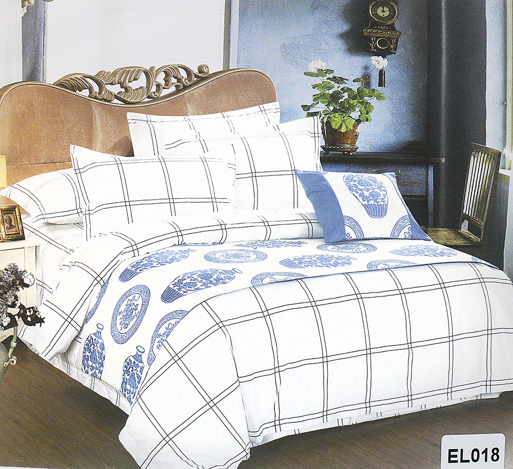 Постельное белье Vie Nouvelle Элегант Cатин евро комплект EL-18