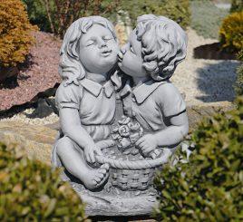 Садовая фигура Поцелуй 38x30x45cm SS12142-16