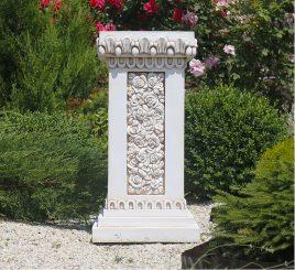 Садовая скульптура Колонна квадратная 76х38х38 см ССК12090