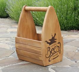 Ящик для пива 36 см D9050