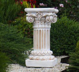 Садовая колонна круглая малая 66х35х35 см ССК12077