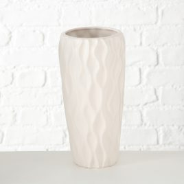 Ваза Морган белая керамика h30см 1016821