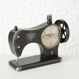 Часы настольные металл h20см (1xAA 1.5V) 1018091