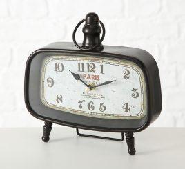 Настольные часы Calisto металл h19см (1xAA 1.5V) 1018094