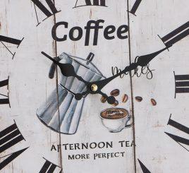Настенные часы МДФ коричневый d34см 1021691