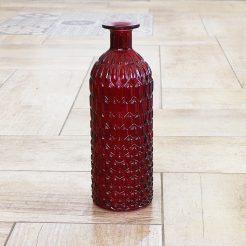 Ваза Джесси красная глянец стекло h25см 7056000-2 кр-глянец