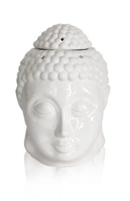 Аромалампа белая керамика 12.5*14*16 см 2305-16