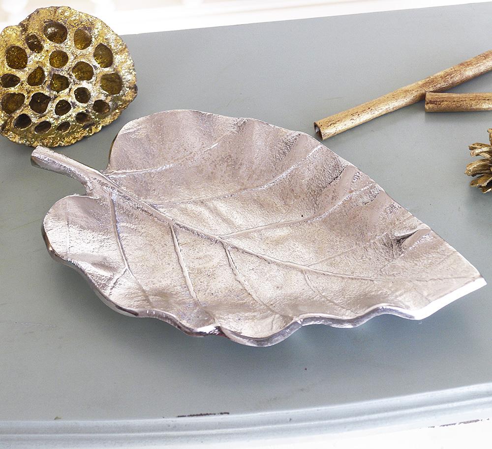 Декоративная чаша Лист сердцевидная L26cm 1003067 -2 сердце
