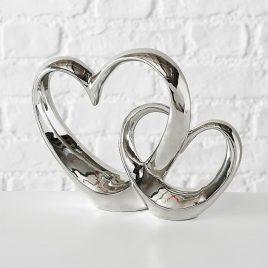 Декоративное Сердце керамика микс h22см 3819700