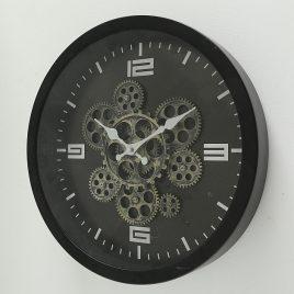 Настенные часы BigTime металл черный d38см 1010169