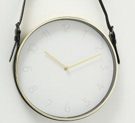 Настенные часы металл золото d31см 1009460