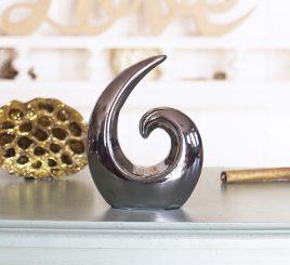 Декоратиная статуэтка бесконечность Сердце h10см 1002814-3С