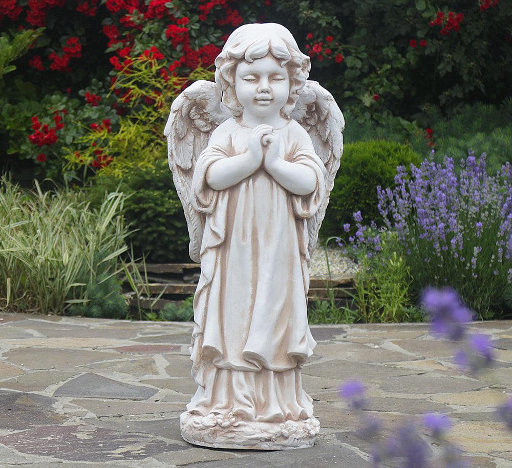 Садовая фигура Ангел молящийся стоя 35x25x72cm ССП12091-Н