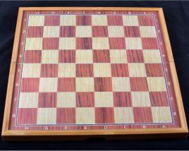 Игровой набор 3в1 нарды шахматы и шашки (48х48 см) 509