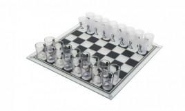 Алко игра шахматы с рюмками (28х28см) 086s