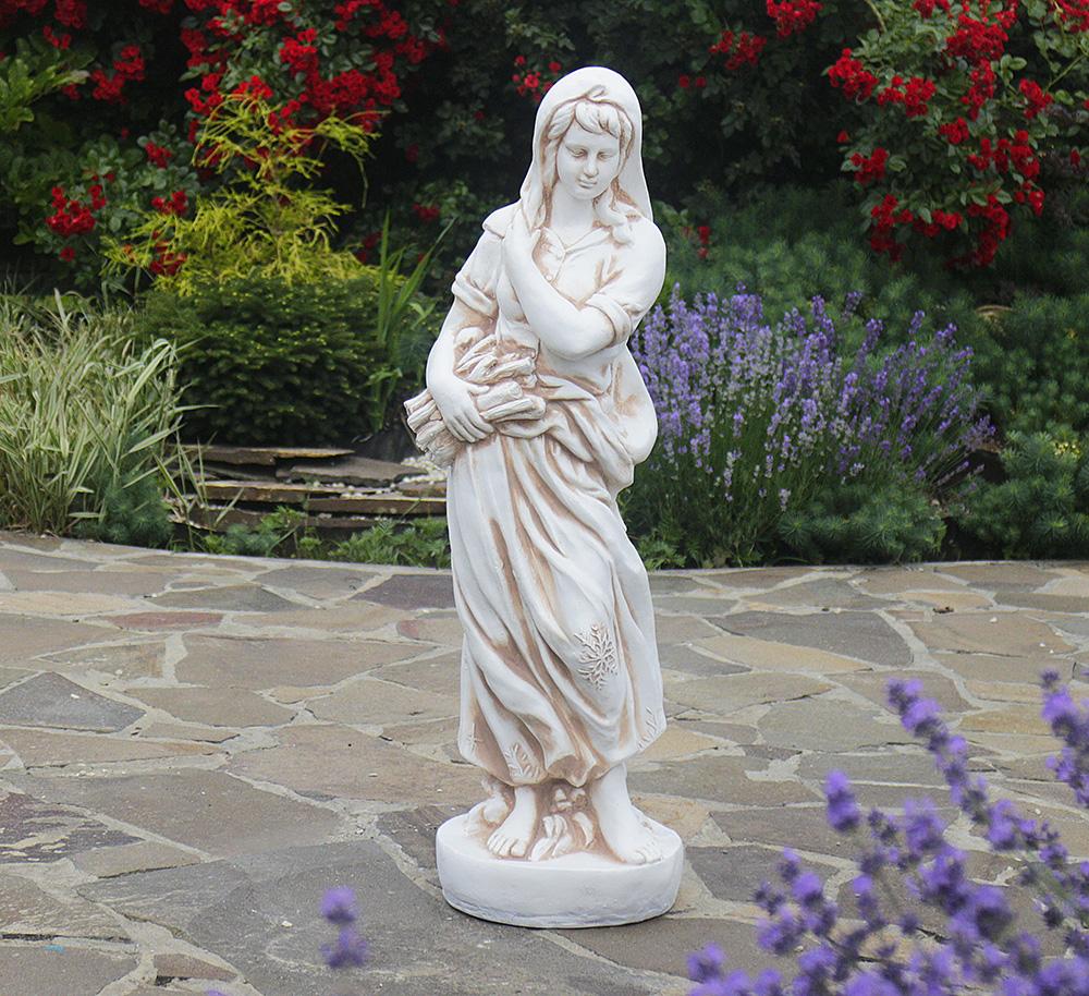 Садовая скульптура Богиня зимы 25x24x83cm ССП12040-Н