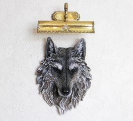 Голова Волка 45 см НД950цв