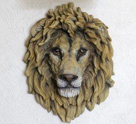 Голова Льва 53 см НД951цв