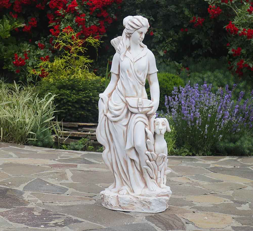 Садовая  статуя Богиня охоты  27x20x83cm ССП12041-Н