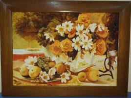 Натюрморт Розы в вазе Н-186 30*40