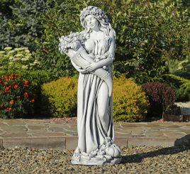 Садовая фигура Богиня Изобилия 100х38х30 см ССП00005 Серый