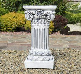 Садовая колонна круглая малая 66х35х35 см ССП12077 Серый