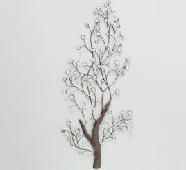 Настенный декор Pedo W 52 см, L 109 см, H 4 см металл 1019895
