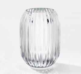 Подсвечник Талин красное стекло h13см 1005678-3Б
