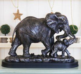 Слон со слоненком SM00347