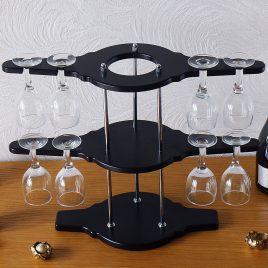 Набор для вина на 8 рюмок-Биплан SS09191