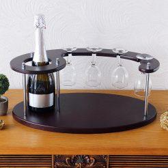 Набор для вина на 4 рюмки-Подиум