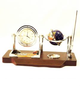 Офисный набор настольный с часами-Баланс SS0186-A