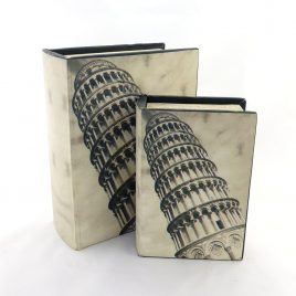 Шкатулка2х  Пизанская башня Гранд Презент 22-F0008