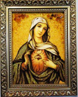 Икона і-15 Пресвятой Богородицы Девы Марии католическая Гранд Презент 15*20